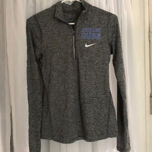 XS Nike Dri-Fit Chicago Cubs long sleeve 1/4 zip